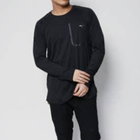 コムサイズム COMME CA ISM 〔ミズノ コラボ商品〕ロングスリーブTシャツ (ブラック)