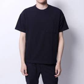 コムサイズム COMME CA ISM サッカーTシャツ (ネイビー)