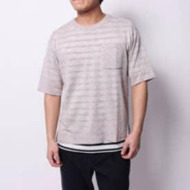 コムサイズム COMME CA ISM Tシャツセットプルオーバー (アイボリー)