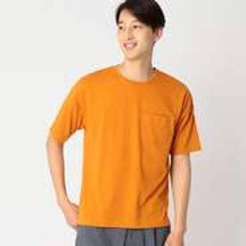 コムサイズム COMME CA ISM 吸水 速乾 ビッグ カラー Tシャツ (マスタード)