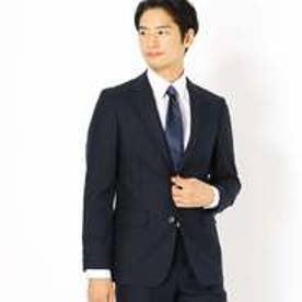 コムサイズム COMME CA ISM 《セットアップ》コーデュラナイロン ミルドストライプ スーツジャケット (ネイビー)