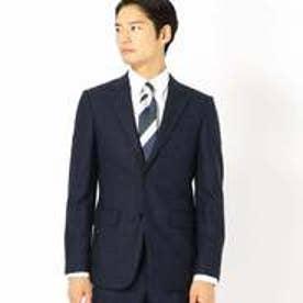 コムサイズム COMME CA ISM 《セットアップ》コーデュラナイロン ミルドウィンドウペン スーツジャケット (ネイビー)