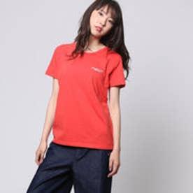 コムサイズム COMME CA ISM ロゴプリントTシャツ (オレンジ)
