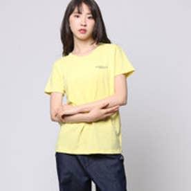 コムサイズム COMME CA ISM ロゴプリントTシャツ (イエロー)