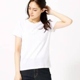 コムサイズム COMME CA ISM シンプルロゴTシャツ (ホワイト)