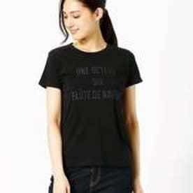 コムサイズム COMME CA ISM シンプルロゴTシャツ (ブラック)