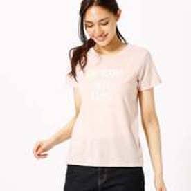 コムサイズム COMME CA ISM シンプルロゴTシャツ (ピンク)
