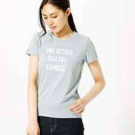 コムサイズム COMME CA ISM シンプルロゴTシャツ (サックス)