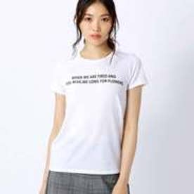 コムサイズム COMME CA ISM プリント Tシャツ (ホワイト)
