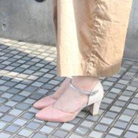 フィン Fin 【低反発スポンジ入り】セパレートパンプス (ピンク)