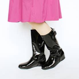 フィン Fin 【レイン対応】ベルトロングブーツ (ブラック)