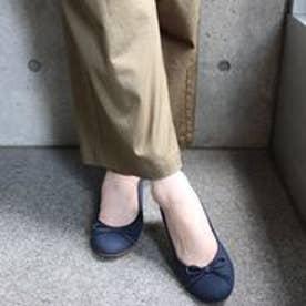 フィン Fin 【低反発スポンジ入り】バレエシューズ (ネイビー)