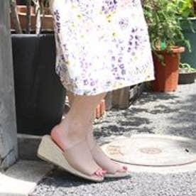 フィン Fin 【低反発スポンジ入り】ストレッチサボサンダル (ベージュ)