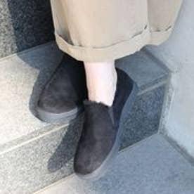 フィン Fin 【低反発スポンジ入り】エコファースリッポン (ブラック)