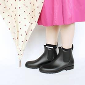 フィン Fin 【完全防水】サイドゴアレインブーツ (ブラック)