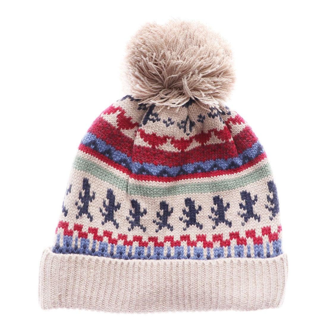 c72856fa211a8 サンカンシオン 3can4on ニット帽 (ブラウン) -アウトレット通販 ロコレット (LOCOLET)