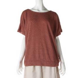 サンカンシオン 3can4on リバーシブルTシャツ (オレンジブラウン)