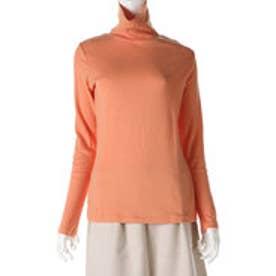 サンカンシオン 3can4on ハイネックTシャツ (オレンジ)