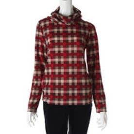 サンカンシオン 3can4on タートルネックシャツ (レッド)