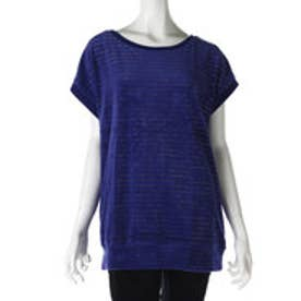サンカンシオン 3can4on ゴールドラインTシャツ (ブルー)