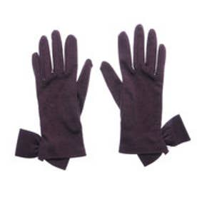 アナトリエ anatelier りぼん手袋 (パープル)