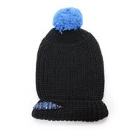 アクアガール aquagirl RADA ビジューニット帽 (ブラック)