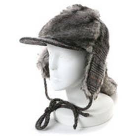 アクアガール aquagirl LOLA ラビットファー付帽子 (ブラック)