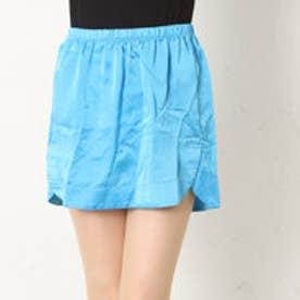 アクアガール aquagirl シルクスカート (ブルー)