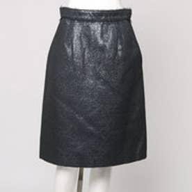 アクアガール aquagirl Pen&Hand ラメジャガードユーロップスカート (グレー)