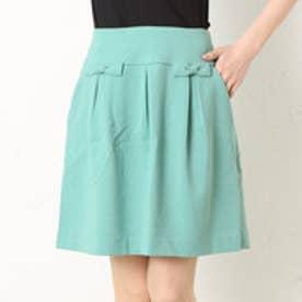 クチュール ブローチ Couture brooch フレアスカート (グリーン)