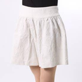 クチュール ブローチ Couture brooch ペイズリー柄ショートパンツ (ホワイト)