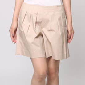 クチュール ブローチ Couture brooch ギャザーフレアパンツ (ベージュ)