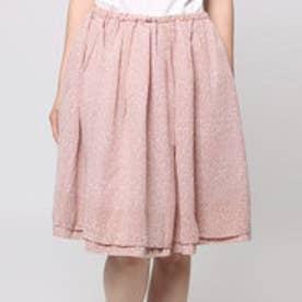 クチュール ブローチ Couture brooch 斑ドットフレアスカート (ピンク)