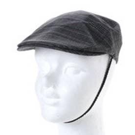 セレク コレクション CELEC COLLECTION チェック柄ハンチング帽 (グレー)