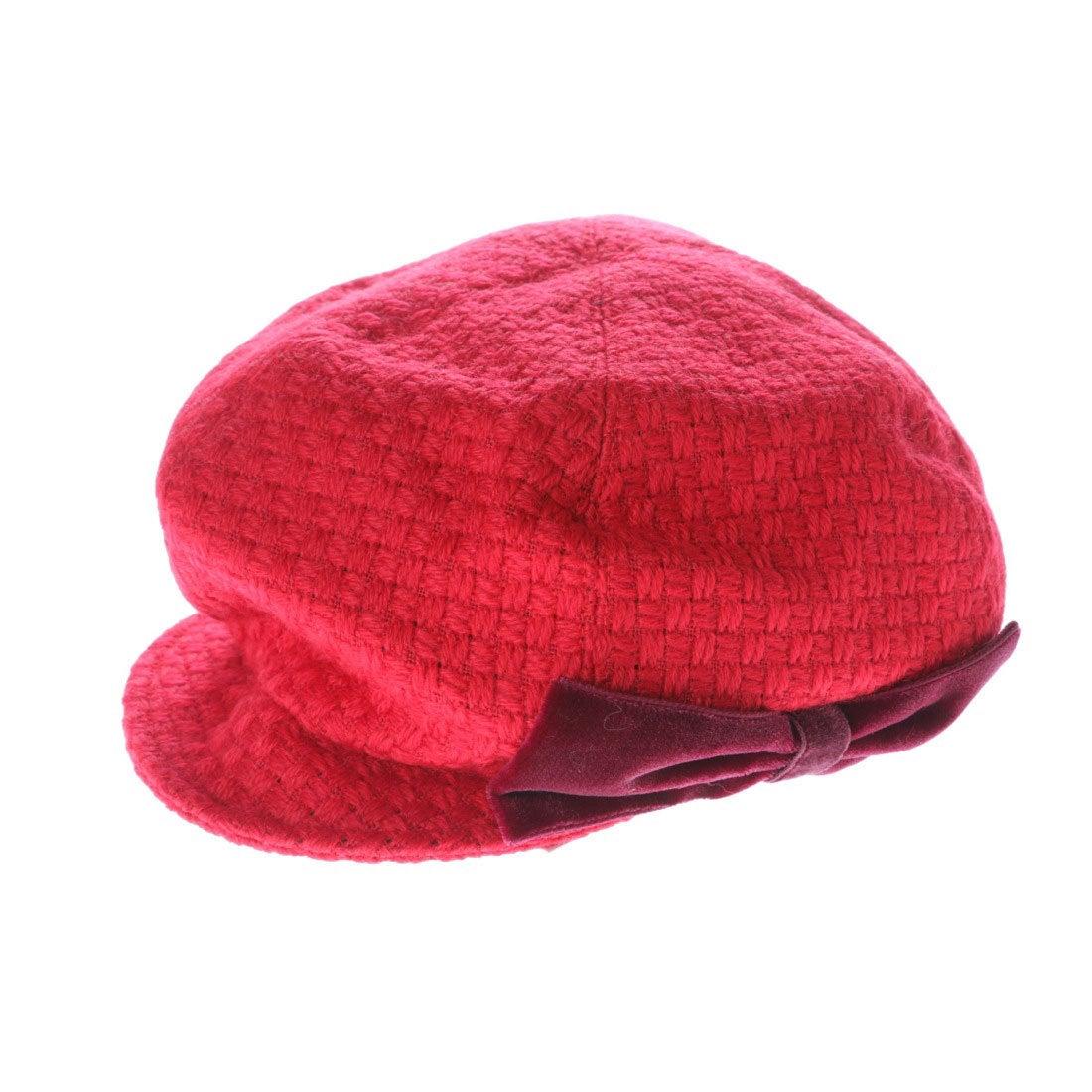 【SALE 80%OFF】セレク コレクション CELEC COLLECTION りぼんキャスケット帽子 (レッド)