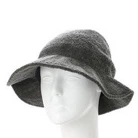 コキュ COCUE ブークレクロッシェ帽子 (グレー)