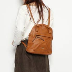 ドレスキップ DRESKIP ポケット付きバッグ (ブラウン)
