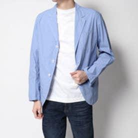ドレステリア DRESSTERIOR パウダーダウンプルーフシャツ (ブルー)