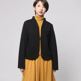 ファイン FINE ミラノリブカットジャケット (ブラック)