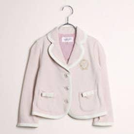 ジル スチュアート ニューヨーク JILLSTUART NEWYORK outlet 刺繍入りジャケット (ピンク)