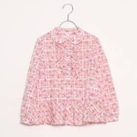 ジル スチュアート ニューヨーク  JILLSTUART NEWYORK outlet アップルビーズボタンシャツ (ピンク)