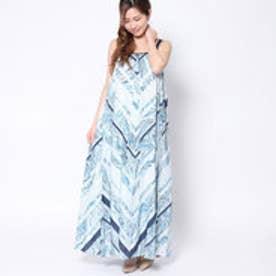 ラ アルアリア LA ARARIA シルク使用キャミドレス (ブルー)