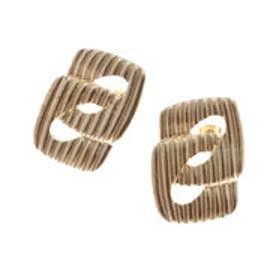 リップサービス LIP SERVICE ヴィンテージスクエアピアス (ゴールド)【両耳】