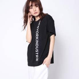 ニューヨーク インダストリー New York Industrie Outlet ロゴTシャツ (ブラック)