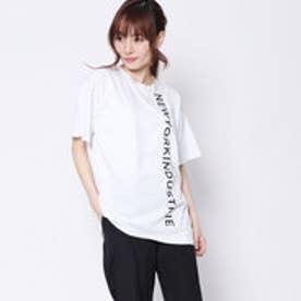 ニューヨーク インダストリー New York Industrie Outlet ロゴTシャツ (ホワイト)