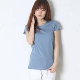 ナチュラルスタンスリーブル natural stance Libre Tシャツ (青)