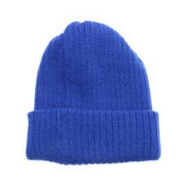 ナノ ユニバース  NANO UNIVERSE outlet ニットカラーワッチ帽 (ブルー)