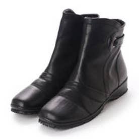 ナートクラップ NART CLAP ベルト付きショートブーツ (ブラック)