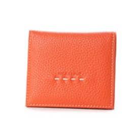 ナイスクラップ NICE CLAUP 二つ折り財布 (オレンジ)