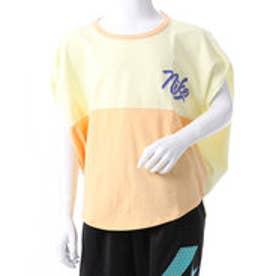 ナイキ NIKE ドット柄半袖Tシャツ (オレンジ)